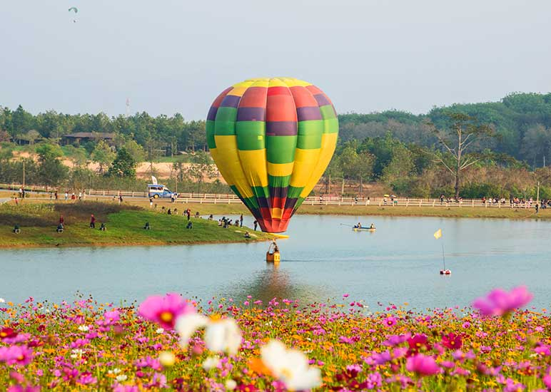 Special event at Singha Park, Chiang Rai