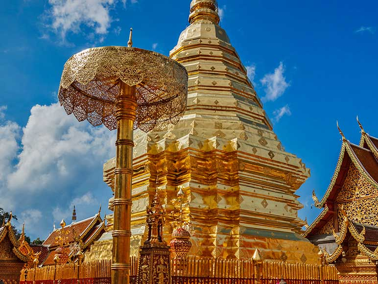 Doi Suthep tours at sunrise