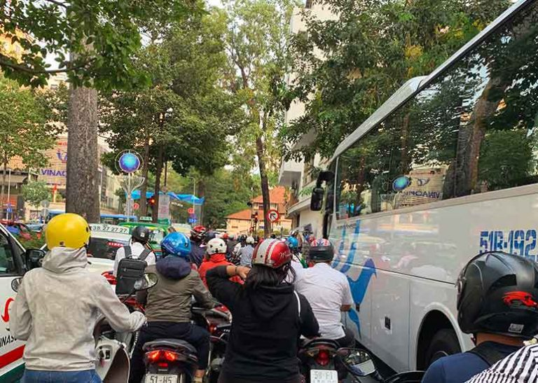 How to get from Ho Chi Minh to Phnom Penh