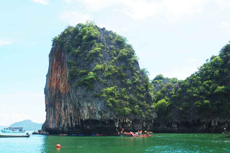 Reaching James Bond Island By Cruise