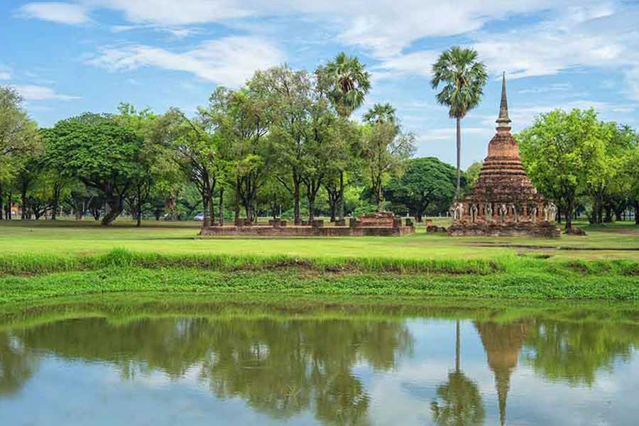 A weekend at Sukhothai Thailand