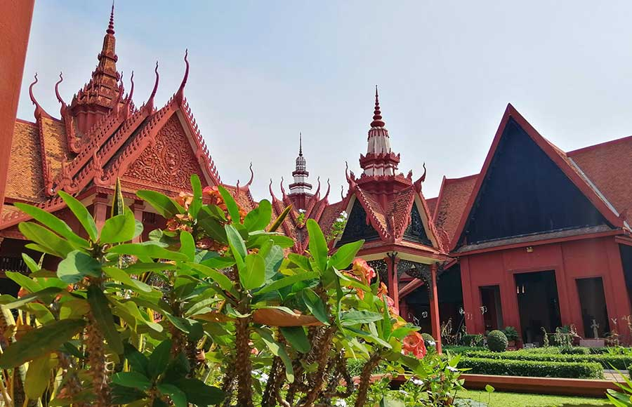 How many days do you need in Phnom Penh? A visit to The National Museum is a must!