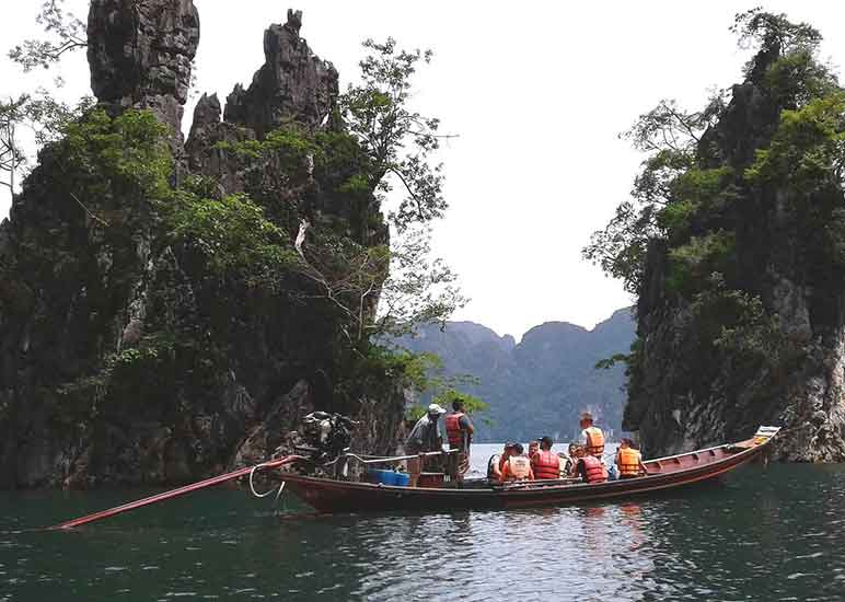 My weekend in Khao Sok National Park