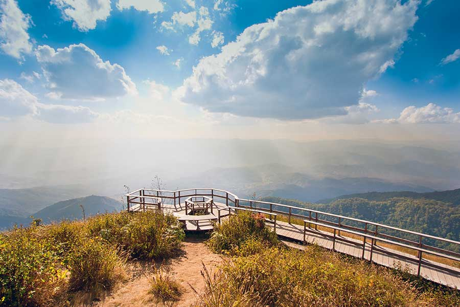 The best trails to trek in Doi Inthanon